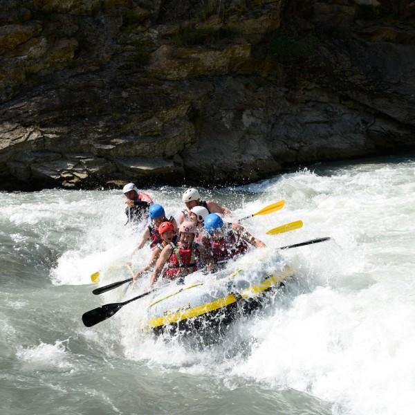 Rafting en el Río Gallego